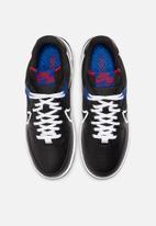Nike - Air Force 1 react - black / white-gym red-gym blue