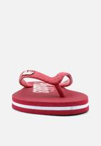 Plakkie - Plakkie flip-flop - lookut red & white