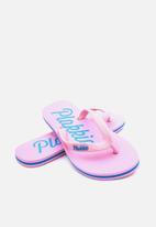 Plakkie - Plakkie flip-flop - mabibi pink & blue