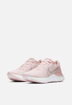 Nike - Renew run - barely rose / mtlc red bronze-white