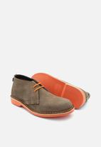 Veldskoen - Heritage suede vellie boot - bloem orange & brown
