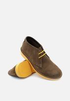 Veldskoen - Heritage suede vellie boot - vlikazi yellow & brown