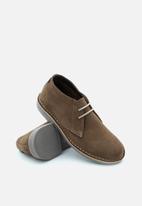 Veldskoen - Heritage suede vellie boot - farmer grey & brown