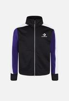 Converse - Converse retro sport warm up - black & purple