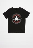 Converse - Converse chuck patch tee - black