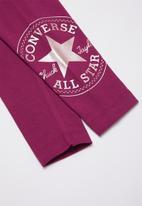 Converse - Converse oversize chuck patch leggings - purple