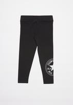 Converse - Converse oversize chuck patch leggings - black