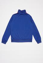 Converse - Converse tricot track jacket  - blue & red