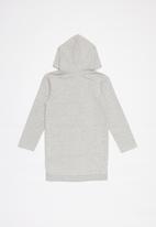 GUESS - Long sleeve longer length active fashion top - grey melange