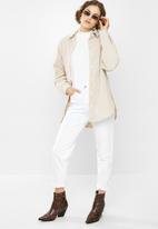 Missguided - Nylon shirt - beige
