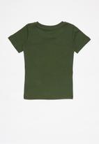 JEEP - Short sleeve iconic tee - khaki