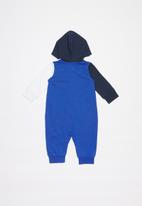 Nike - Nike boys amplify hooded coverall - midnight navy