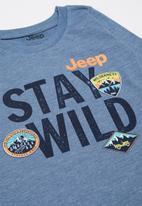JEEP - Long sleeve iconic tee - blue