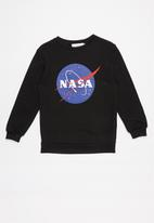 Superbalist - NASA sweat top - black