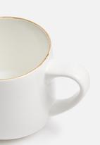 Urchin Art - Anna mug - white