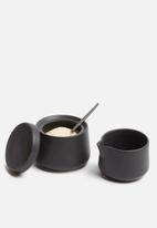 Urchin Art - Coal creamer set - grey