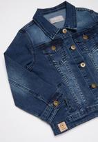 JEEP - Denim jacket - indigo