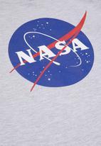 Superbalist - NASA hoodie - grey melange