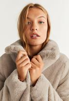 MANGO - Campbell jacket - pale brown