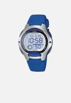 Casio - Stop digital watch - blue