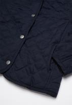 JEEP - Quilted padded jacket - navy