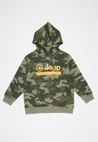 JEEP - Overland hoodie - green