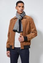 Superbalist - Merit scarf - blue & grey