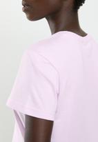 Reebok - Classics big logo tee - pink