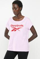 Reebok - Graphic tee - pink