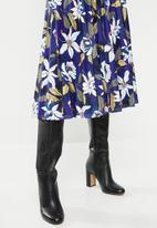 edit - Pleated skirt - multi