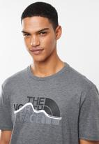 The North Face - Mountain line tee - grey