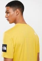 The North Face - Short sleeve fine apline tee - bamboo yellow