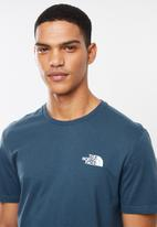 The North Face - Simple dome tee - blue