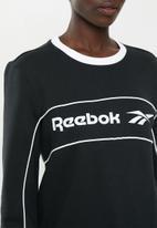 Reebok - Classics linear crew - black
