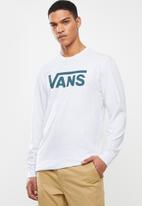 Vans - Vans classic long sleeve tee - grey