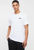 The North Face - Short sleeve bd gls tee - white & black