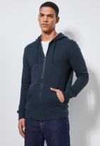 Superbalist - Noel zip through hoodie - navy