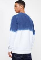 Vans - Vans2k crew sweater - blue & white