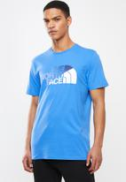 The North Face - Short sleeve bd tee - blue