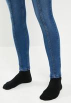 Sissy Boy - Mile high rise skinny with panel lines - blue