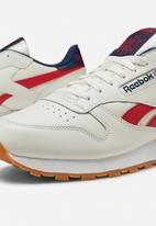 Reebok Classic - Cl leather mu - chalk/navy/red