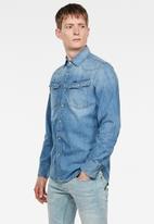 G-Star RAW - 3301 Shirt - blue