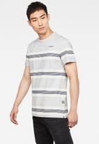 G-Star RAW - Stainlo stripe short sleeve tee - multi