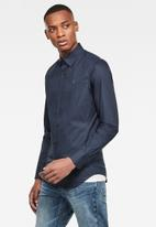 G-Star RAW - Dressed super slim fit long sleeve shirt - navy