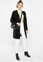 Jacqueline de Yong - Mollo long sleeve structure cardigan - black
