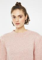 Cotton On - Waldorf cropped pullover - pink