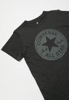 Converse - Converse over dye heather tee - grey