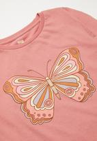 Cotton On - Penelope long sleeve multipack - green & pink