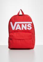 Vans - Old skool iii backpack - red