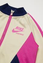 Nike - Nike girls sportswear heritage jacket - light orewood brown